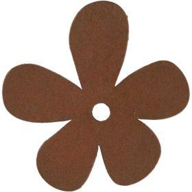 blomst 10stk brun