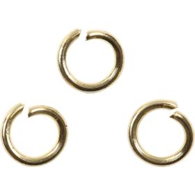 O-ring 5mm 50stk forgylt