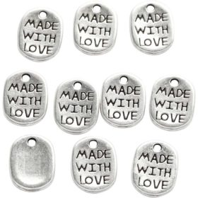 charms made with love 10stk