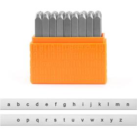 ImpressArt alfabet små bokstaver 3mm