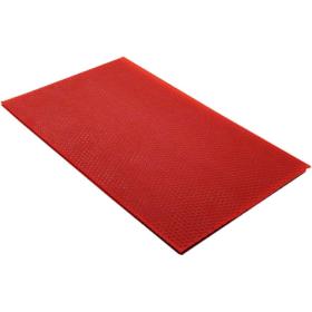 Bivoksplate rød