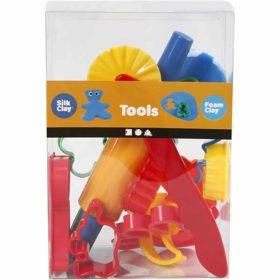 Stikkformer og verktøy, 15stk.