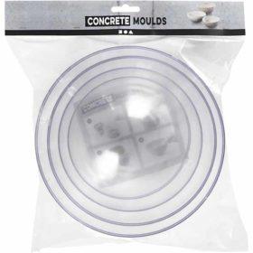 Concrete mold, size 13.6+15.6+18+20 cm, 4pcs