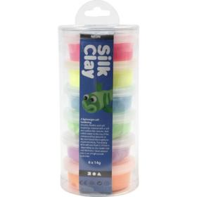 Silk Clay sortiment neon