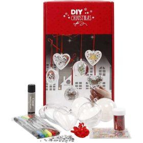 DIY kuler og hjerter jul