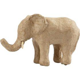 Elefant, H: 9 cm, L: 13 cm, 1stk.