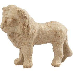 Løve, H: 9 cm, L: 13 cm, 1stk