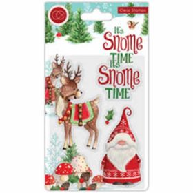 Craft Consortium It's Snome Time Clear Stamps