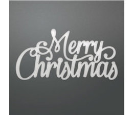 Couture Creations Let Every Day Be Christmas Merry Christmas Decorative Die
