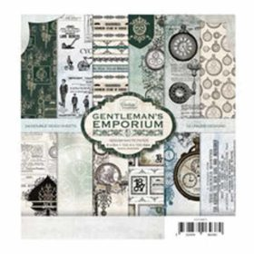 Couture Creations Gentleman's Emporium 6x6 Inch Paper Pack