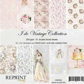 Reprint I Do 12x12 Inch Collection Pack