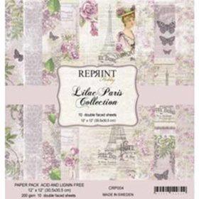 Reprint Lilac Paris 12x12 Inch Paper Pack