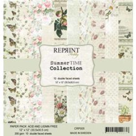 Reprint Summer Time 12x12 Inch Paper Pack