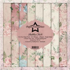 Dixi Craft Paper Favourites Shabby Chich 6x6 Inch Paper Pack