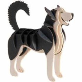 3D Paper Model – husky