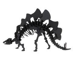 3D Paper Model - stegosaurus