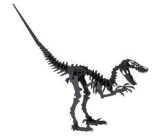 3D Paper Model - velociraptor