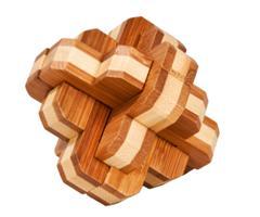 IQ-test bambus - avrundet knute