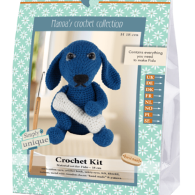 Crochet Kit - Fido hund