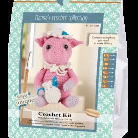 Crochet Kit - Hillary gris