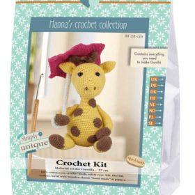 Crochet Kit - Gunilla giraff