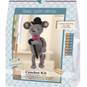 Crochet Kit - Elliot mus