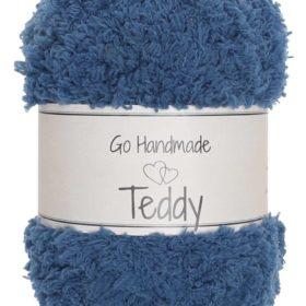 Teddy 50g, 100% polyester, petrol