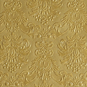 Serviett 25 Elegance gold