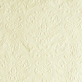 Serviett 25 Elegance cream