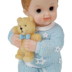 Baby blå 10cm