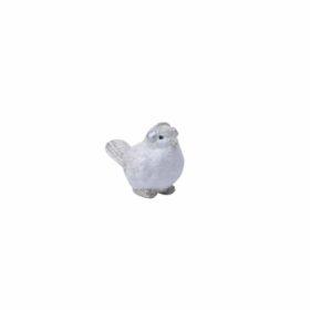 Liten fugl med ørevarmere 7cm