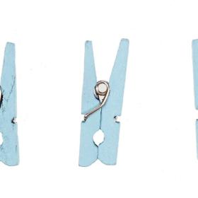 klyper lysblå 3cm 48stk