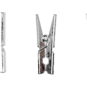 klyper sølv 3cm 48stk