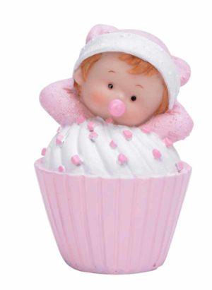 Baby i muffins rosa