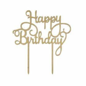 Kakepynt Happy Birthday