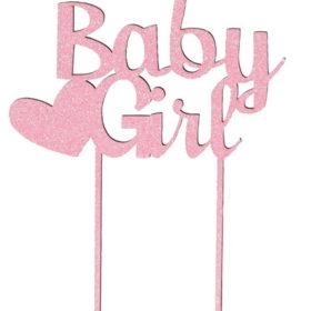 Kakepynt Baby Girl