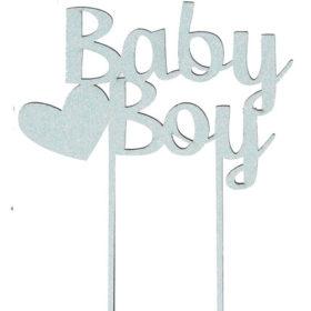 Kakepynt Baby Boy