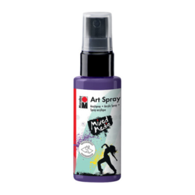 Marabu Mixed Media art spray - 037 plomme