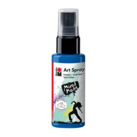 Marabu Mixed Media art spray - 057 gentian blå