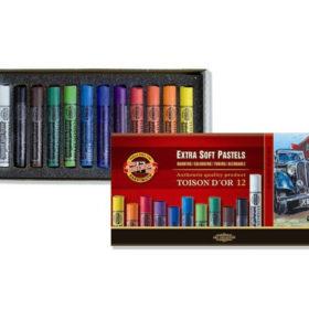 Koh-i-Noor Extra Soft Pastel Rund 8552 – Sett 12stk