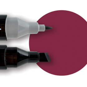 Touch twin marker 1 Wine Red