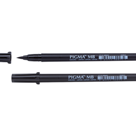 Sakura Pigma Brush Pen - MB Medium #49 sort