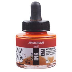 Amsterdam Ink 30ml - 257 Relex Orange