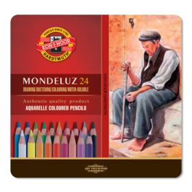 Koh-i-Noor Mondeluz Akvarellblyant 24stk