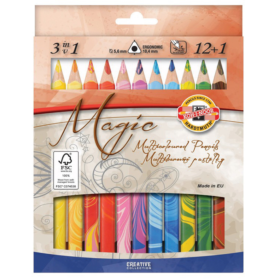 Koh-i-Noor Magic Multicolor 12pk