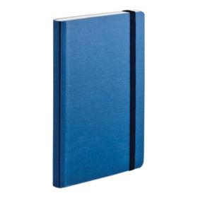 EcoQua notebook A6 blank blå