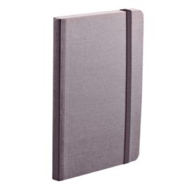 EcoQua notebook A6 prikker grå