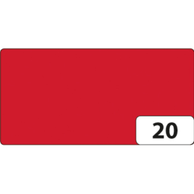 Folia Fotokartong 50x70cm - 20 rød