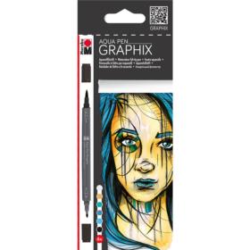 Graphix - Aqua Pen 6stk - Metropolitan