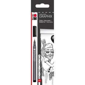 Graphix - Fineliner 4stk - black